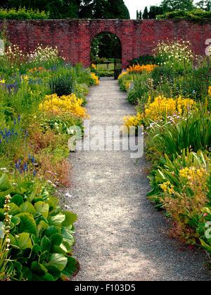 Berrington Hall gardens Gloustershire - Stock Photo