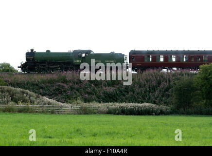 Former LNER B1 class steam locomotive No. 61306 'Mayflower' - Stock Photo