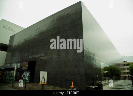 Kunstmuseum Liechtenstein National Art Museum in Vaduz - Stock Photo
