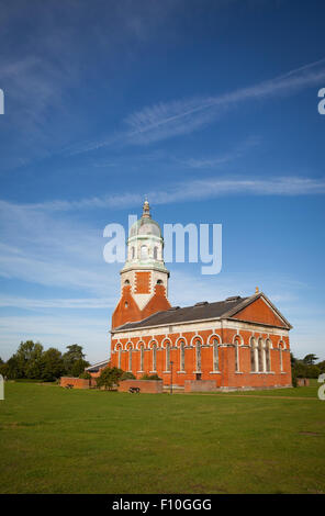 The Hospital Chapel ( now a heritage centre) in the Royal Victoria Country Park, Netley, Southampton, Hampshire, - Stock Photo