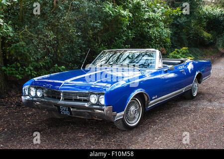 1966 Oldsmobile Delta 88 Convertible - Stock Photo