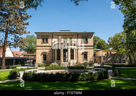 Villa Wahnfried - home of the composer Richard Wagner in the town of Bayreuth, Germany.  Now a museum. - Stock Photo
