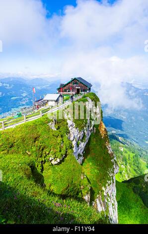 mountain, Schafberg, mountain hut, Schutzhaus, landscape - Stock Photo