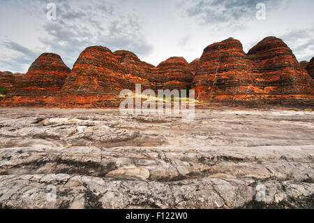 Beehive Domes in Piccaninny Gorge. - Stock Photo