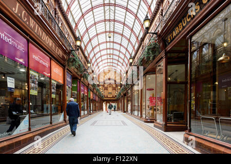 Central Arcade Newcastle upon Tyne - Stock Photo