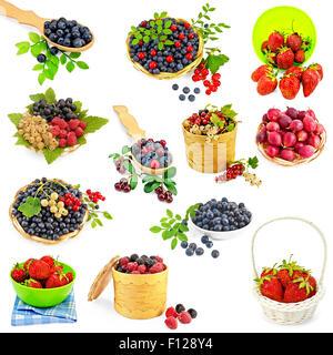 Berries set - Stock Photo