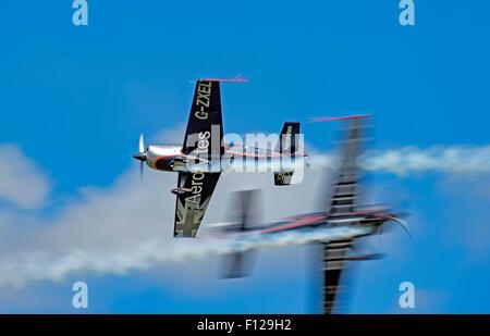 Blades Aerobatic Display Team at RNAS Culdrose AirDay - Stock Photo