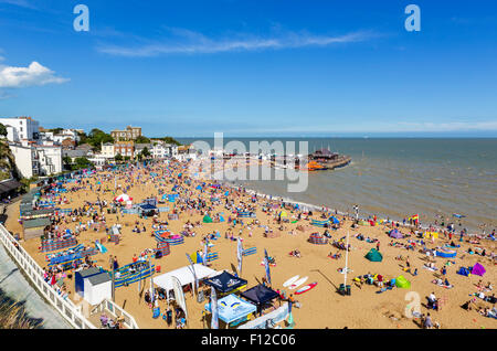 The beach in Broadstairs, Kent, England, UK - Stock Photo