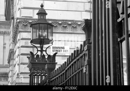 Downing Street, London, UK. - Stock Photo