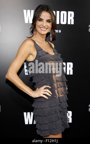HOLLYWOOD, CA - SEPTEMBER 06, 2011: Ana Alexander at the Los Angeles premiere of 'Warrior'. - Stock Photo