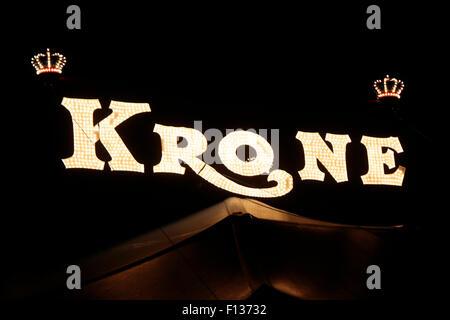 Markennamen: 'Cirkus Krone', Berlin. - Stock Photo