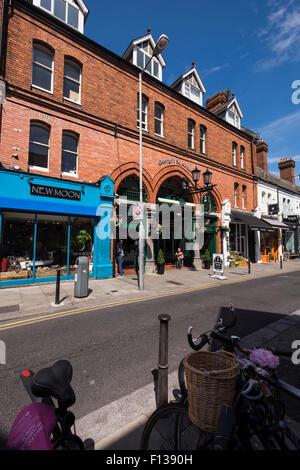 Drury street entrance to the Georges Street market arcade in Dublins creative Quarter, Dublin, Ireland. - Stock Photo