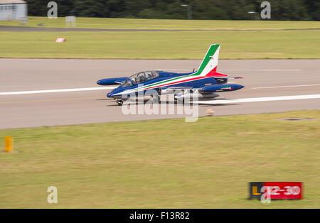 Italian Frecce Tricolori at RNAS Culdrose Air Day - Stock Photo