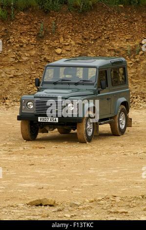 Land Rover Defender 90 XS 2007 model - Stock Photo