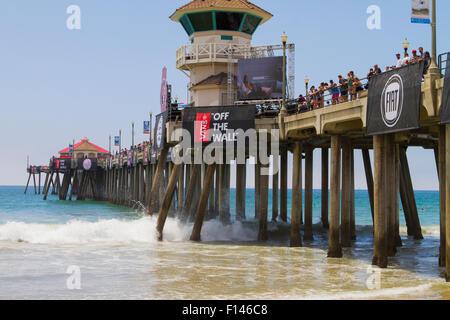 9bfc1eca04 Vans US Open of Surfing at Huntington Beach California USA - Stock Photo