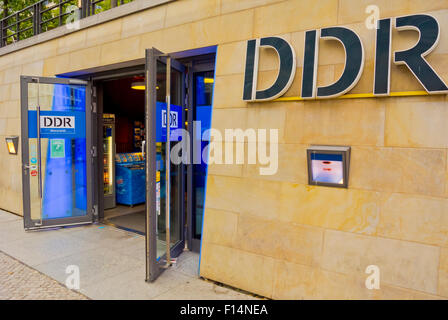 DDR museum, museum of East Germany, Mitte, Berlin, Germany - Stock Photo