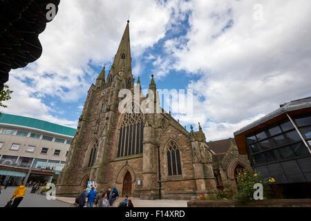St Martin in the bull ring church Birmingham UK - Stock Photo