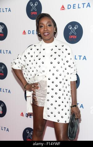 New York, USA. 26th Aug, 2015. Estelle in attendance for Second Annual Pre-U.S. Open Delta Open Mic, Arena, New - Stock Photo