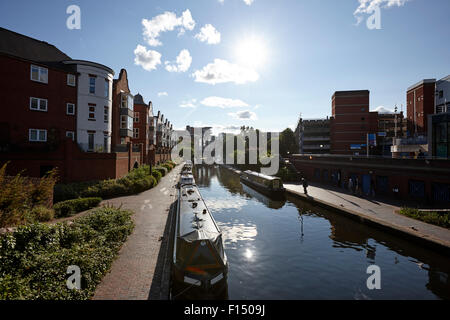 oozells street loop of birmingham canal navigations Birmingham UK - Stock Photo
