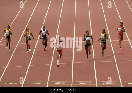 Beijing, China. 27th Aug, 2015. IAAF World Championships at the National Stadium, also known as Bird's Nest, in - Stock Photo