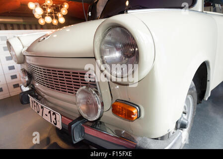Trabant in the DDR Museum, Berlin, Germany - Stock Photo