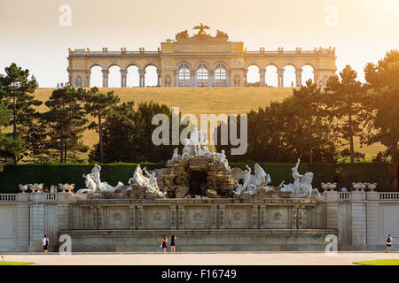 Gloriette Vienna in Schonbrunn Palace - Stock Photo