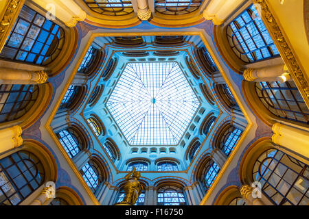 Vienna, Palais Ferstel arcade - Stock Photo