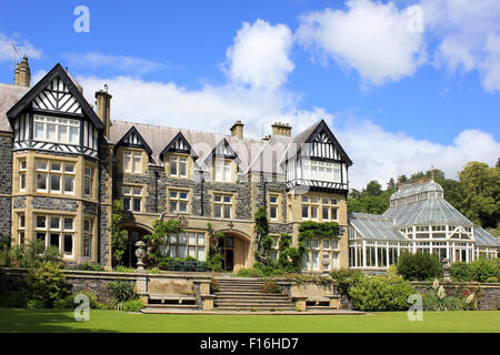 Bodnant Hall - Stock Photo