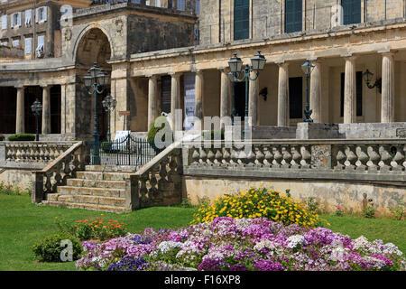 Museum of Asian Art, Corfu Town, Corfu Island, Greece, Europe - Stock Photo