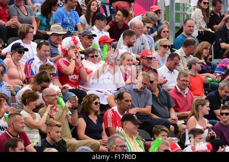 Leav Valley, London, UK. 29th Aug, 2015. Unibet EuroHockey Championships Day 9. Semi Finals England versus Ireland. - Stock Photo