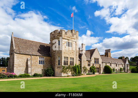 Rockingham Castle, near Corby, Northamptonshire, England, UK - Stock Photo