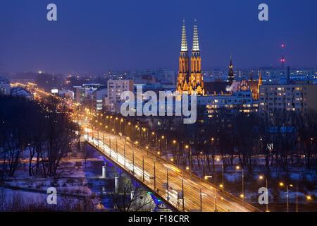 A street in the Praga district of Warsaw where Roman ...