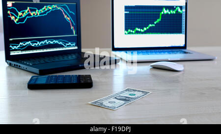 Forex trading. - Stock Photo