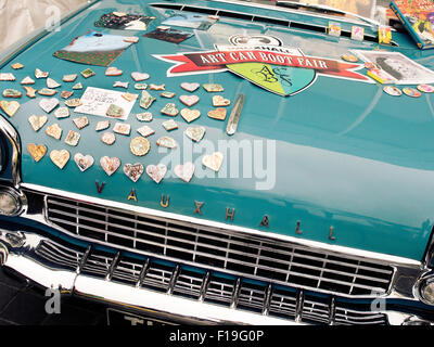 Margate, Kent, UK. 30th Aug, 2015. Car Art boot fair at Turner Gallery Margate Kent Credit:  Martyn Goddard/Alamy - Stock Photo