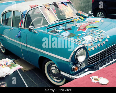 Margate, Kent, UK. 30th Aug, 2015. Art Car boot fair at the Turner Contemparery Gallery Margate Kent UK Credit: - Stock Photo