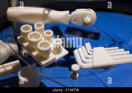 3D printed hand tools - USA - Stock Photo