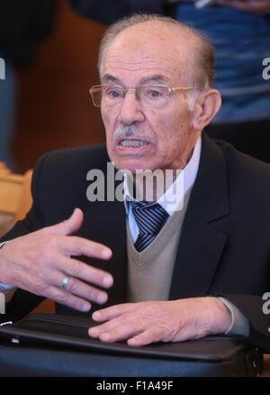 Moscow, Russia. 31st Aug, 2015. Hassan Abdul Azim (), General Coordinator of the National Coordination Committee - Stock Photo