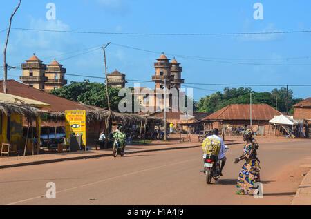 Ketou, Benin - Stock Photo