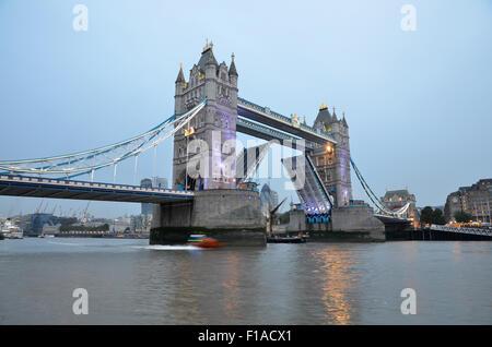 Tower Bridge, London, UK, Great Britain - Stock Photo