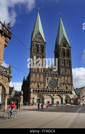 Bremen, Germany, the Dom St. Petri - Stock Photo