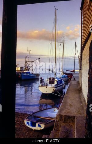 Leigh-on-Sea. Essex. England. UK - Stock Photo