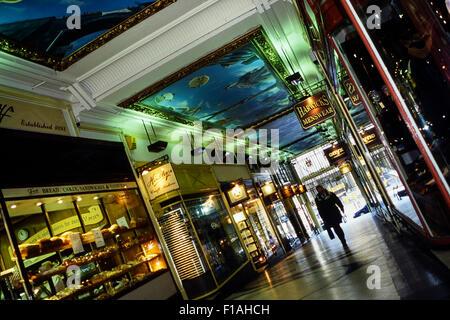 Piccadilly Arcade, Birmingham, West Midlands, England, UK - Stock Photo