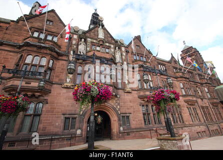 Exterior of the Coventry City Council building - The Council House - in Earl Street, Coventry, Midlands, England - Stock Photo
