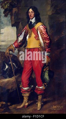 Anthony Van Dyck - Portrait of Sir Thomas Wharton - Stock Photo