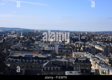 Reims from the Cathedral - Stock Photo