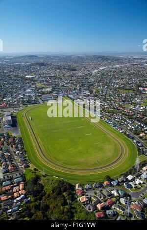 Avondale Racecourse, Auckland, North Island, New Zealand - aerial - Stock Photo