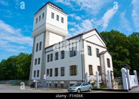 Veetorn, former water tower, Noblessneri valukoda, Tallinn, Harju county, Estonia, Europe - Stock Photo