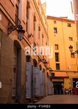 San Gines Chocolateria, Madrid, Community of Madrid, Spain. - Stock Photo