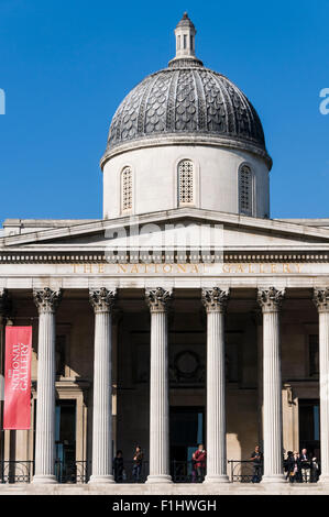 National Gallery, London - Stock Photo