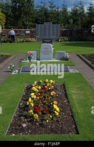 Lockerbie PanAm103 In Rememberance Memorial - Stock Photo